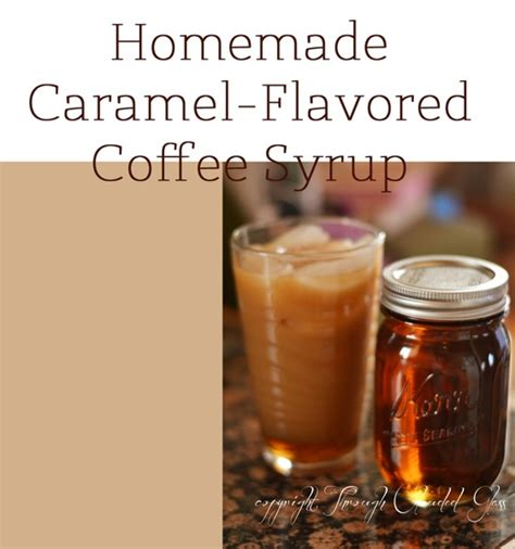Making vanilla and chocolate syrups for your morning coffee at home is easy and cheap. DIY: Homemade Coffee Syrup | Through Clouded Glass