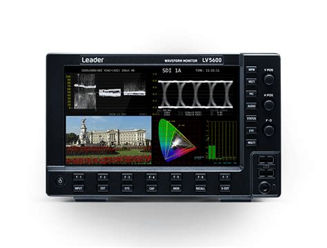 lv waveform monitors video  broadcast related product info leader electronics