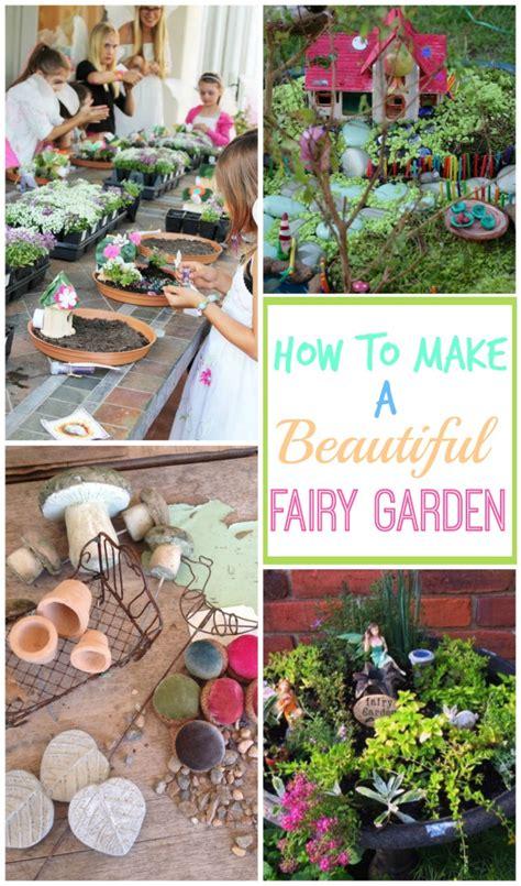 how to create a garden how to make a fairy garden design dazzle bloglovin