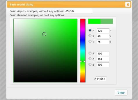 highly configurable color picker for jquery and jquery ui vanderlee colorpicker free jquery