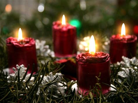 christmas candles hd wallpapers wallpapers