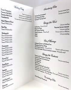 wedding mass program template catholic wedding program on catholic wedding
