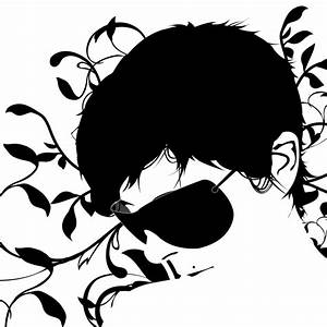 Black And White Abstract Face Mobile Background for HP ...