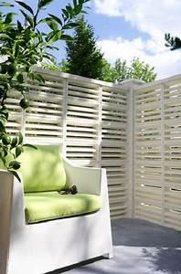 Claustra Beton Blanc : le brise vue pour s 39 abriter des regards indiscrets d co cool ~ Melissatoandfro.com Idées de Décoration