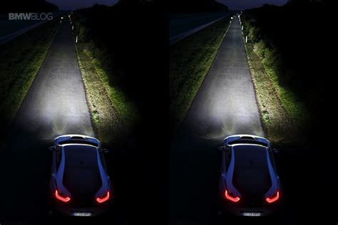 bmw headlights at night our experience with the bmw i8 laser headlights at night