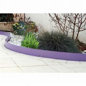 Bordure De Jardin : votre bordure de jardin en acier couleur lilas d 39 une ~ Melissatoandfro.com Idées de Décoration
