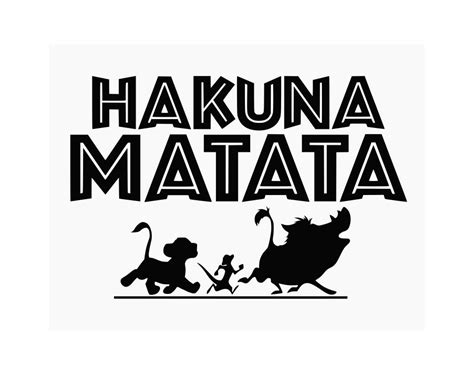 glass for crafts lions king svg hakuna matata svg disney svg cricut cut