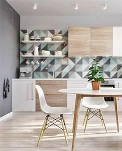Papier Peint Cuisine Moderne : les 25 meilleures id es concernant papier peint ~ Dailycaller-alerts.com Idées de Décoration