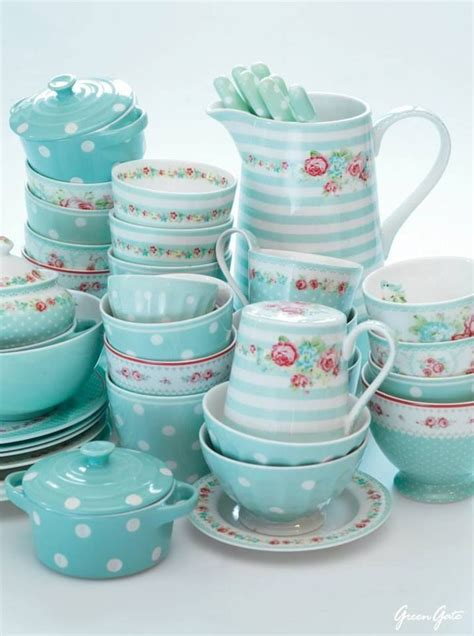 cuisine turquoise 17 best images about greengate goodies on tea