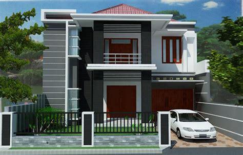 desain rumah minimalis budget  juta