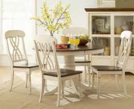 White Dining Room Sets Ohana White Dining Room Set Casual Dinette Sets