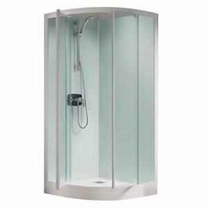 Cabine De Douche 80x80 : cabine de douche kineprime glass r80 80x80 portes ~ Edinachiropracticcenter.com Idées de Décoration