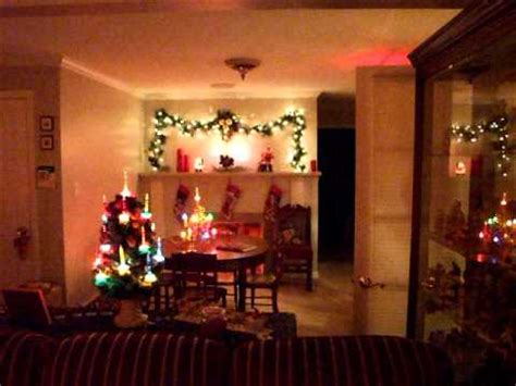 vintage bubble light christmas trees