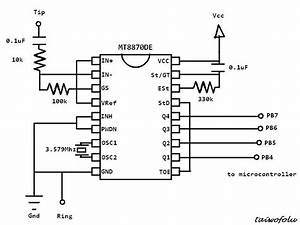 pwm control with dtmf avr freaks With dtmf decoder