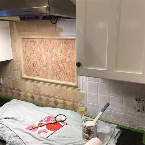 Painting Kitchen Backsplash by Follow These Easy Steps To Paint Your Back Splash