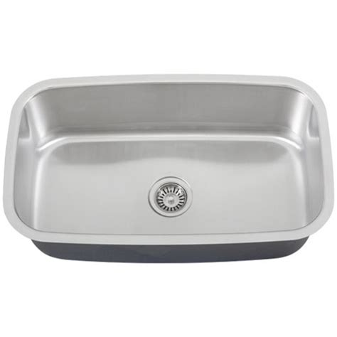 kitchen sinks undermount single bowl ticor s112 undermount stainless steel single bowl kitchen sink 8597