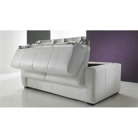 canapé lit facile à ouvrir canapé lit rapido en cuir de vachette pas cher