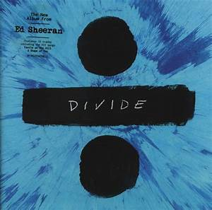 Ed Sheeran - Divide (2017) CD Cover & Label