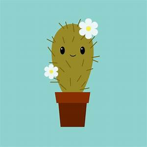 Illustrator for Kids: How to Create a Cute Cactus ...