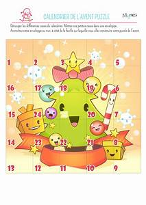 Calendrier De L Avent The : calendrier de l 39 avent puzzle de no l ~ Preciouscoupons.com Idées de Décoration