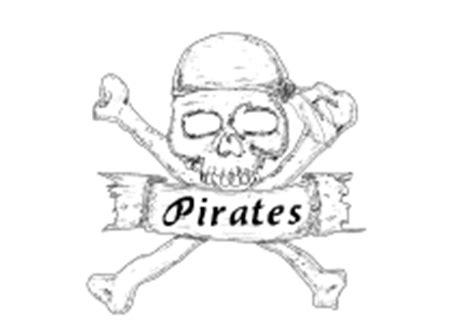 ausmalbilder piraten seeraeuber schiffen