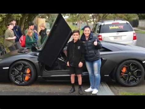 Morefm Ride To School In A Lamborghini Asurekazani