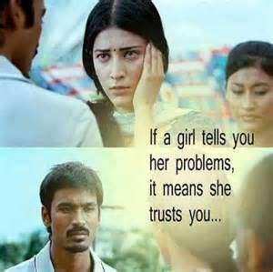 Tamil Movie 3 Love Quotes