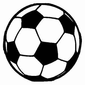 Soccer Ball Clip Art Black And White | Clipart Panda ...