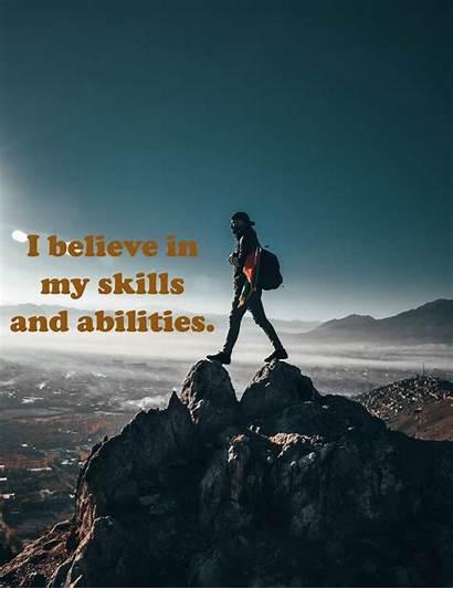 Self Positive Esteem Examples Believe Views