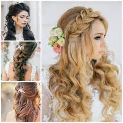 hairstyles for weddings wavy hairstyles haircuts hairstyles 2016 2017 and hair colors for medium hair