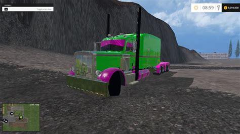 colored contacts simulator pete 10 215 10 colored truck farming simulator 2019 2017