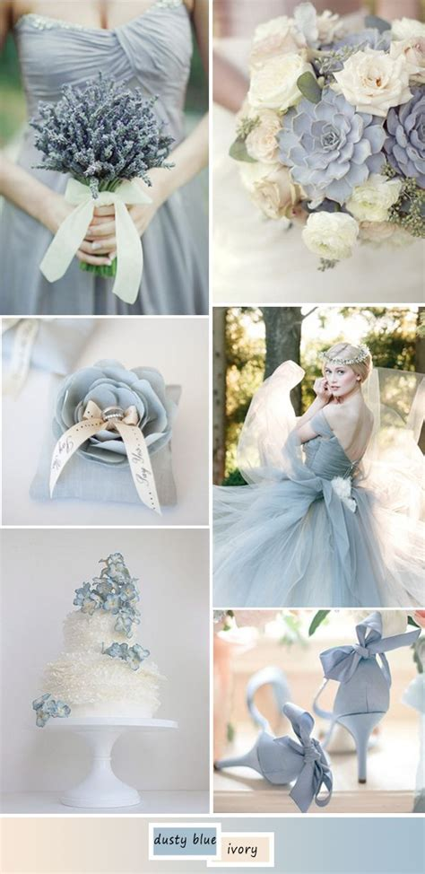 top  perfect shades  blue wedding color ideas