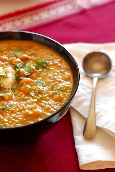 Quinoa and Lentil Soup Recipe