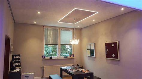 led lichtkanal f 252 r indirekte beleuchtung in der decke