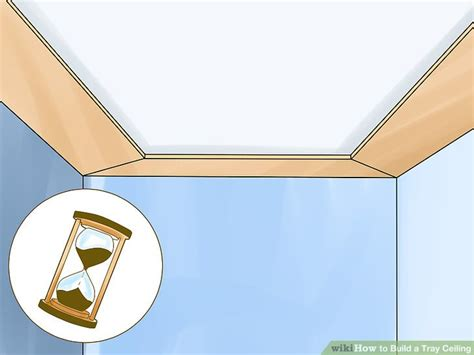 How To Build A Tray Ceiling by How To Build A Tray Ceiling 14 Steps With Pictures