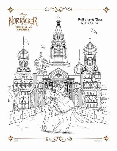 Nutcracker Coloring Activity Sheets Disney Mother Ginger