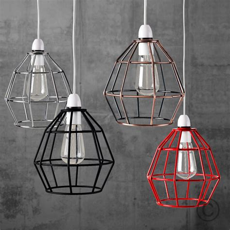 vintage style l shades vintage industrial style metal cage wire frame ceiling