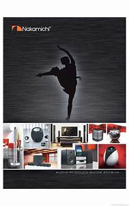 Nakamichi Audio Product Guide - Product Catalogue