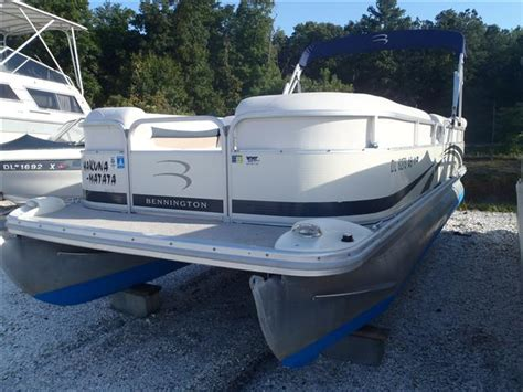 Pontoon Boats For Sale Delaware Ohio by Used Power Boats Pontoon Bennington Boats For Sale 8