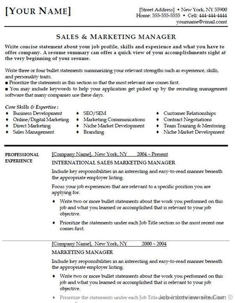 Best Resume Sles by Top 25 Best Resume Formats And Exles