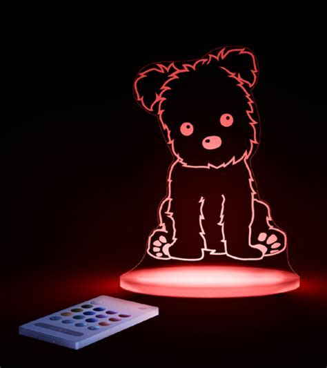 BEDTIME PUPPY LED NIGHT LIGHT