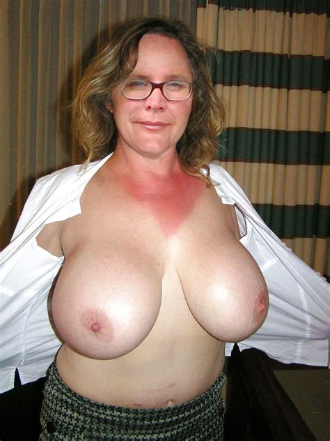 Grandma And Her Natural Big Boobs Beauty Of Erotism