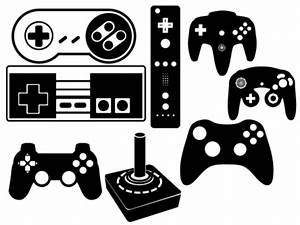 Game Controller Vector Set Clipart Picture Free Download