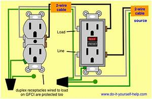 Ground Fault Interrupter Wiring Diagram