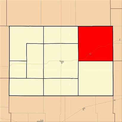 County Hodgeman Kansas Map Township Svg Marena
