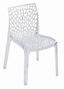 Chaise Plastique Transparente : chaise plastique transparent ~ Melissatoandfro.com Idées de Décoration