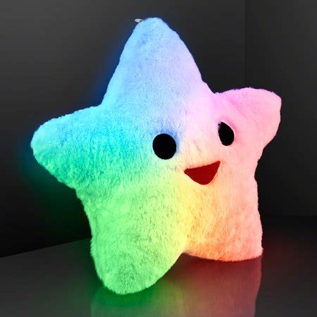 light up pillow flashingblinkylights happy light up pillows with auto