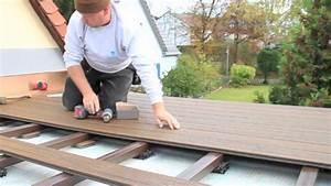 Wpc Dielen Auf Balkon Verlegen : trex wpc dielen einbau youtube ~ Markanthonyermac.com Haus und Dekorationen