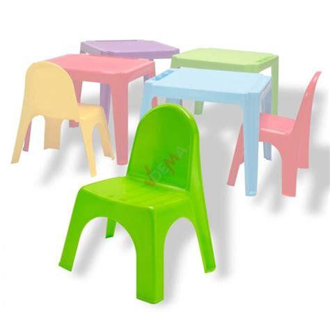 chaise pour enfants en pvc empilable couleur verte plein air cing