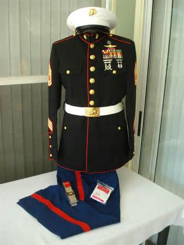 Marine Corps Dress Blues Uniform